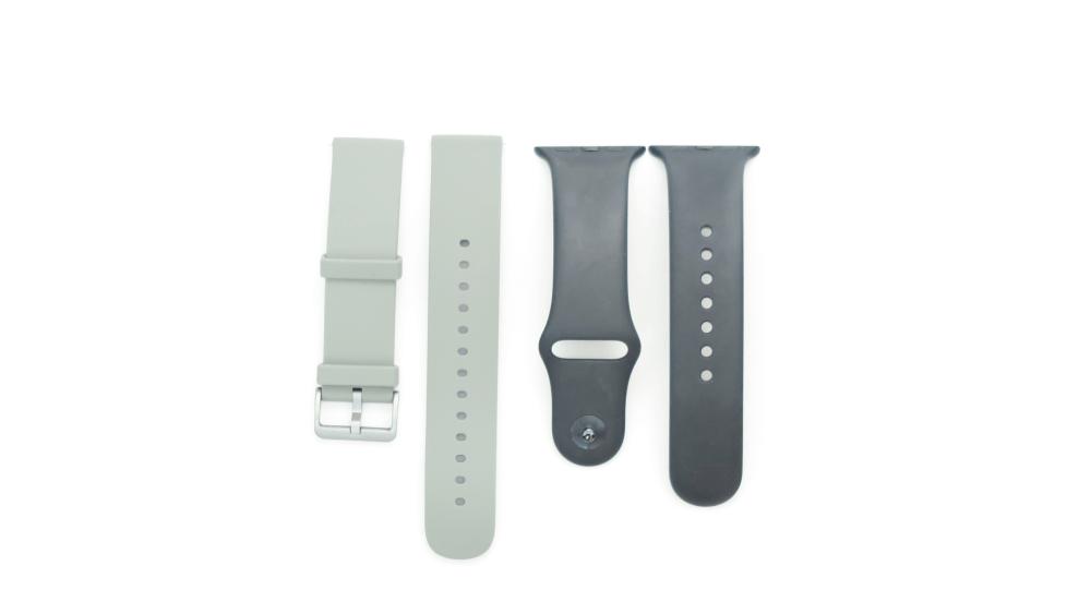 Amazfit GTSとApple Watchのシリコンバンド比較