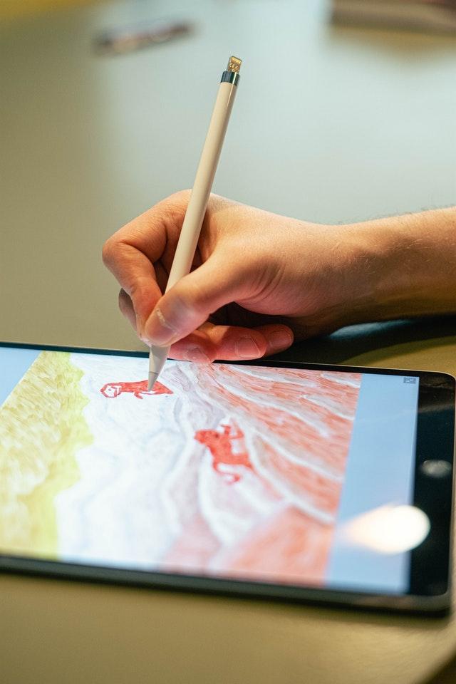 Apple PencilとiPadでお絵かき